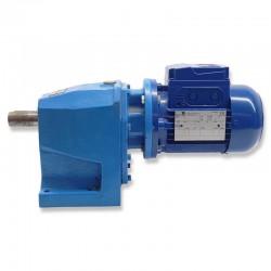 Motorreductor trifásico 220/380V 0,18 Kw con reductor coaxial CUÑAT 32 RPM finales
