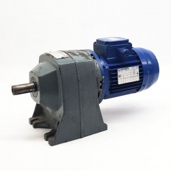 Motorreductor trifásico 220/380V 0,25 Kw con reductor coaxial PUJOL MUNTALA 120 RPM finales