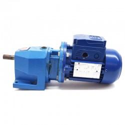 Motorreductor trifásico 220/380V 0,25 Kw con reductor coaxial CUÑAT 67 RPM finales