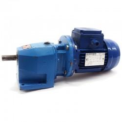 Motorreductor trifásico 220/380V 0,25 Kw con reductor coaxial CUÑAT 79 RPM finales