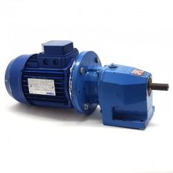 Motorreductor trifásico 220/380V 0,37 Kw con reductor coaxial CUÑAT 83 RPM finales
