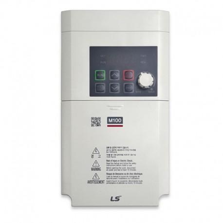 Variador de frecuencia 0,4 KW monofásico 220 V LS M100