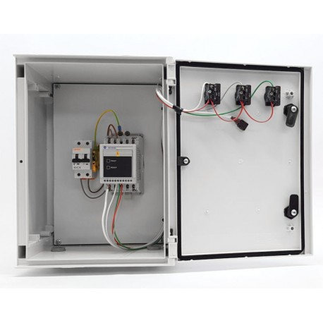 Armario PVC con variador de frecuencia 0,55 Kw / 1 CV Allen Bradley (Seminuevo)