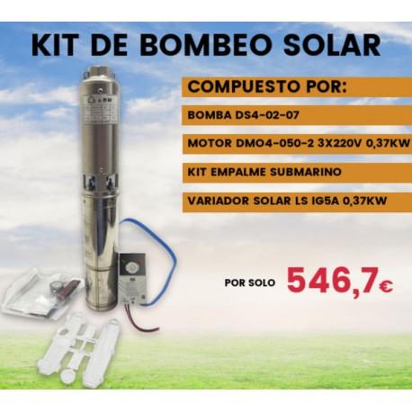 Kit de bombeo solar