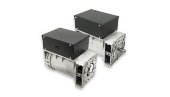 Alternador Mecc Alte trifásico 220/380V 9 KVA a 3000 rpm con escobillas y regulación electrónica