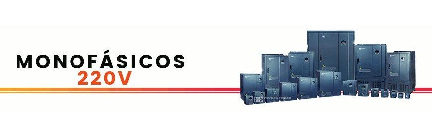 Variador de frecuencia monofasico, de velocidad, inversor de frecuencia POWTECH     Monofásicos 220V, para motores eléctricos trifásicos 220V,  convertidores de tensión,      voltaje,  energía,  reguladores, economizadores, arrancador suave,  convertidores de      corriente, inversión de giro.     Zuendo.com