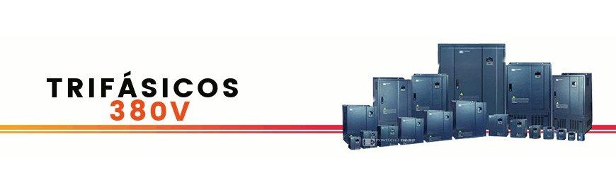 Variadores de frecuencia nuevos trifásicos convertidores de tensión, voltaje, energía, reguladores,economizadores, arrancador suave, convertidores de corriente, inversión de giro. zuendo.com