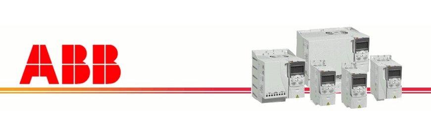Convertidores de frecuencia, convertidores, inversor de giro, arrancadores suavesABB en zuendo.com    Disponemos detodas las potencias en arrancadores y variadores de frecuencia de la marca ABB de la serie ACS.   Son fáciles de instalar, con funciones avanzadas, no requieren de mantenimiento y sobre todo son sencillos de utilizar.   Filtro CEM integrado, control vectorial sin captador, perfil cuadrático pensado para bombas y ventiladores, control de cualquier motor   eléctrico en general.   Variadores, convertidores, inversores de frecuencia, de velocidad, arrancador suave, convertidor de corriente, tensión, voltaje, monofásicos y trifásicos, nuevos, baratos, ofertas, económicos, marca Schneider.