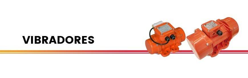 Vibradores eléctricos trifásicos 220/380 V, monofásicos 220V y neumáticos de bolas 1500 y 3000 revoluciones por minuto. zuendo.com