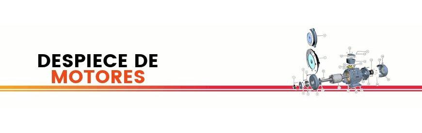 Despiece y repuestos para motores eléctricos Alren. Disponemos de todos los repuestos disponibles. Cojinetes, retenes, juntas, arandelas, tornillos, cajas de bornes, rotores, rodamientos, patas y chavetas.zuendo.com