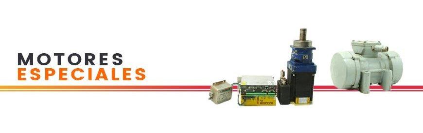 Vibradores, servomotores, motores hidráulicos, servos, motores de corriente contínua, grupos de presión hidráulicos. Zuendo.com