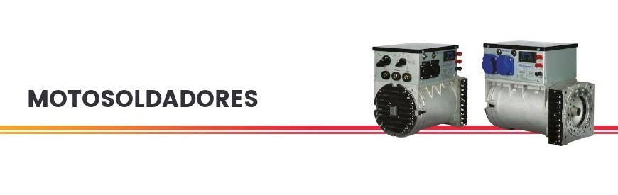 Cabezas alternadoras con soldador incorporado de la marca Zanardi (Filial de Mecc Alte). Todas las potencias disponibles.