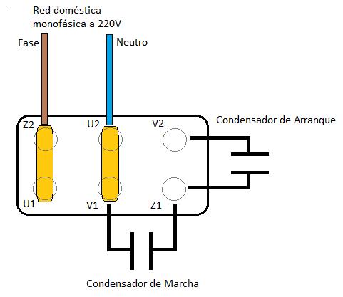Como Conectar Un Motor Eléctrico Monofásico 220v A La Red Eléctrica