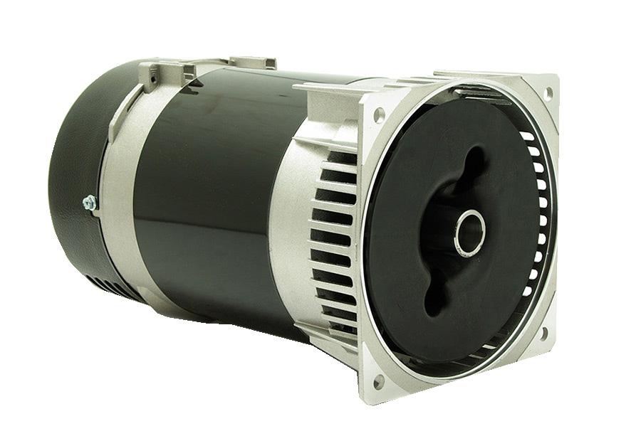 Alternador Mecc Alte monofásico 4,1 KVA a 3000 rpm.