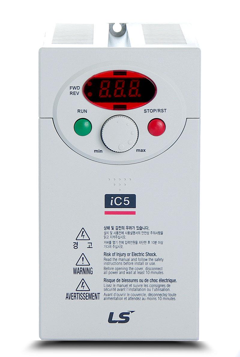 Variador de frecuencia 1,5 KW monofásico 220 V LS IC51F