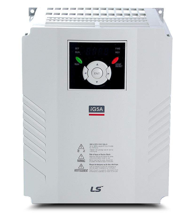 Variador de frecuencia 1,5 KW trifásico 380 V LS IG5A