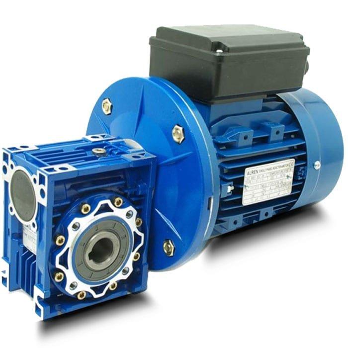 Motorreductor Monofásico o trifásico 0,37 KW / 0,5 CV I: 10