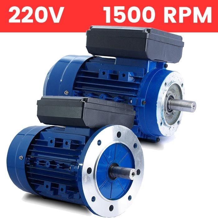 Motor monofásico 220V 0,75 KW / 1 CV arranque medio o arranque reforzado
