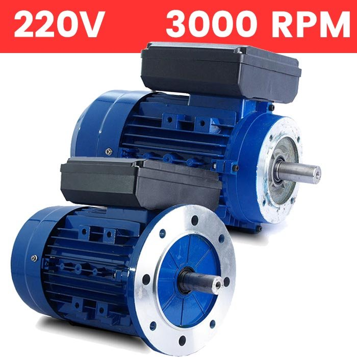 Motor monofásico 2,2 KW / 3 CV arranque medio o arranque reforzado
