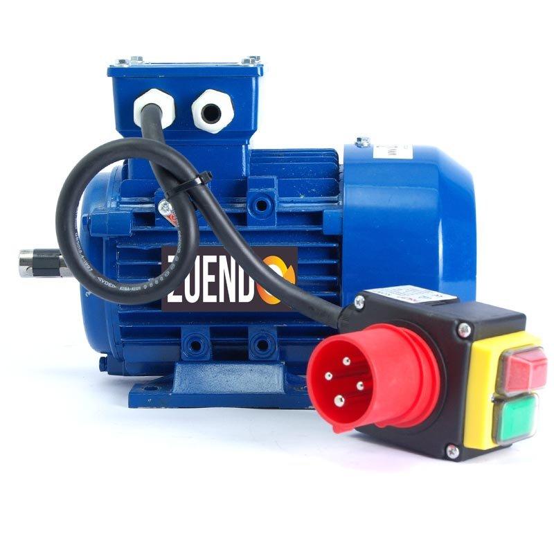 Motor trifásico Alren con cable y enchufe