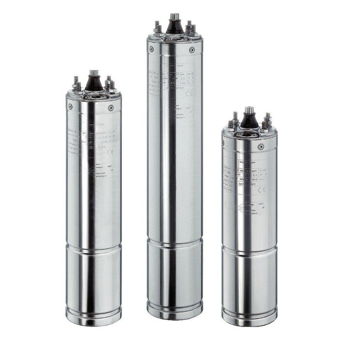 """Motores sumergibles de 4"""" para bombas de pozo"""