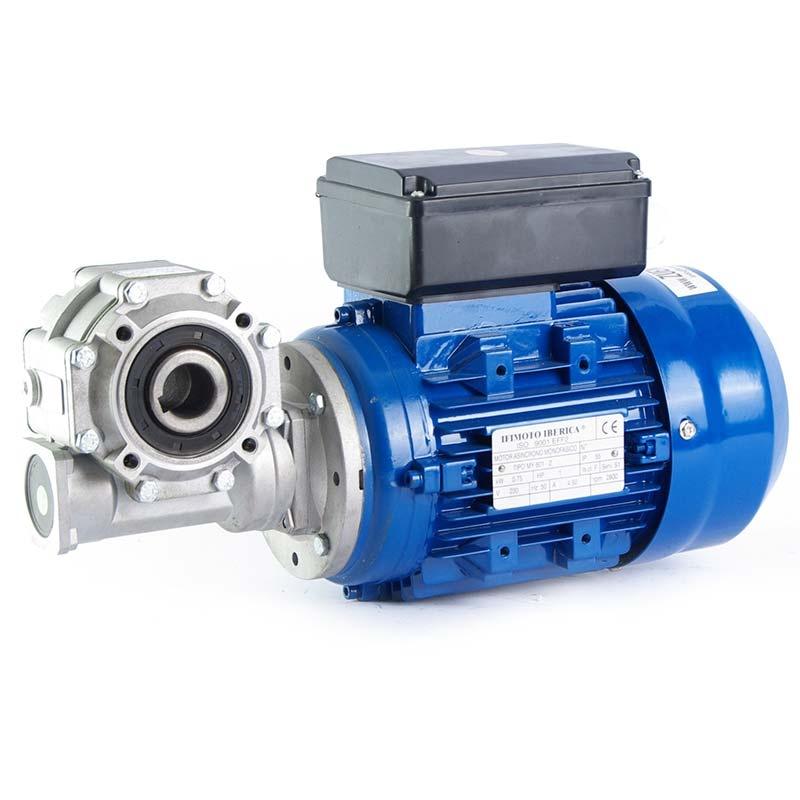 Motorreductor monofásico 220V Ifimoto 0,75 kw 93 RPM finales