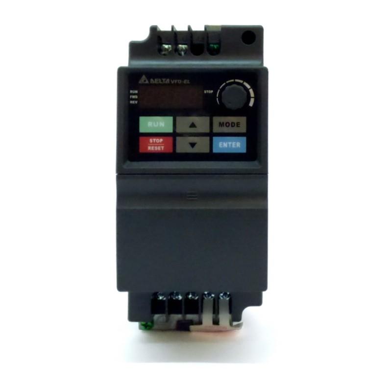 Variador de frecuencia 2,2 KW monofásico 220 V Delta VFD-EL