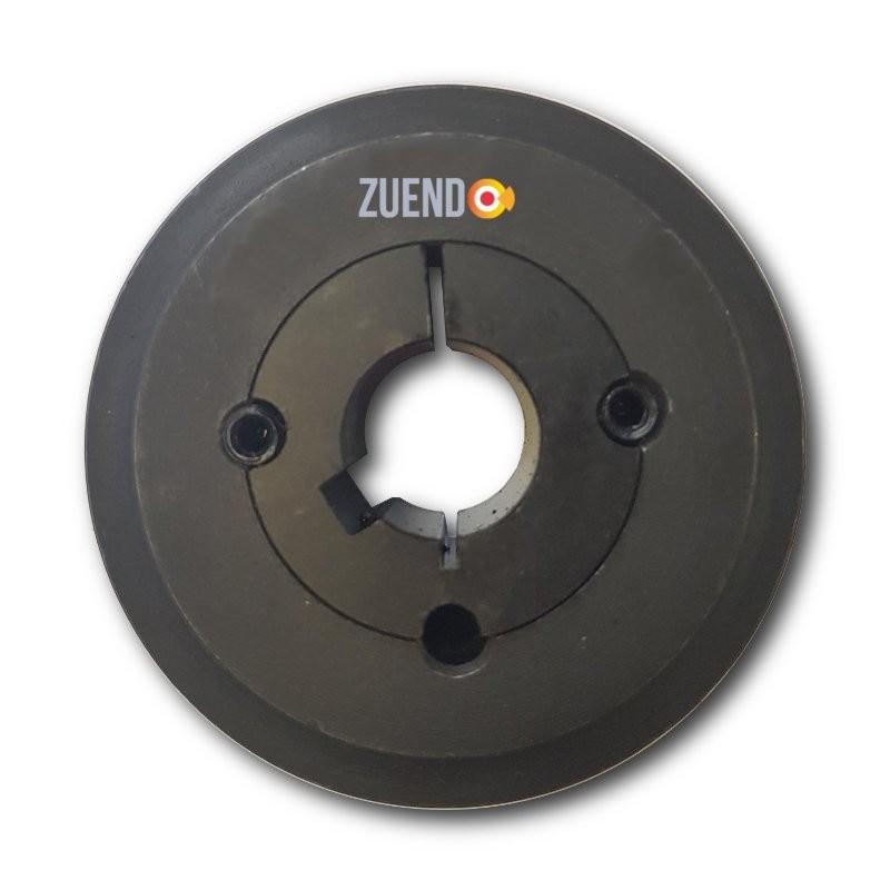 Polea tipo Spa de 120 mm de 1 canales. Selecciona eje.