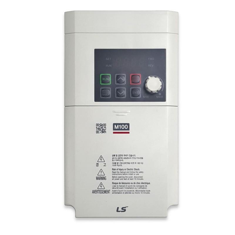 Variador de frecuencia 2,2 KW monofásico 220 V LS M100