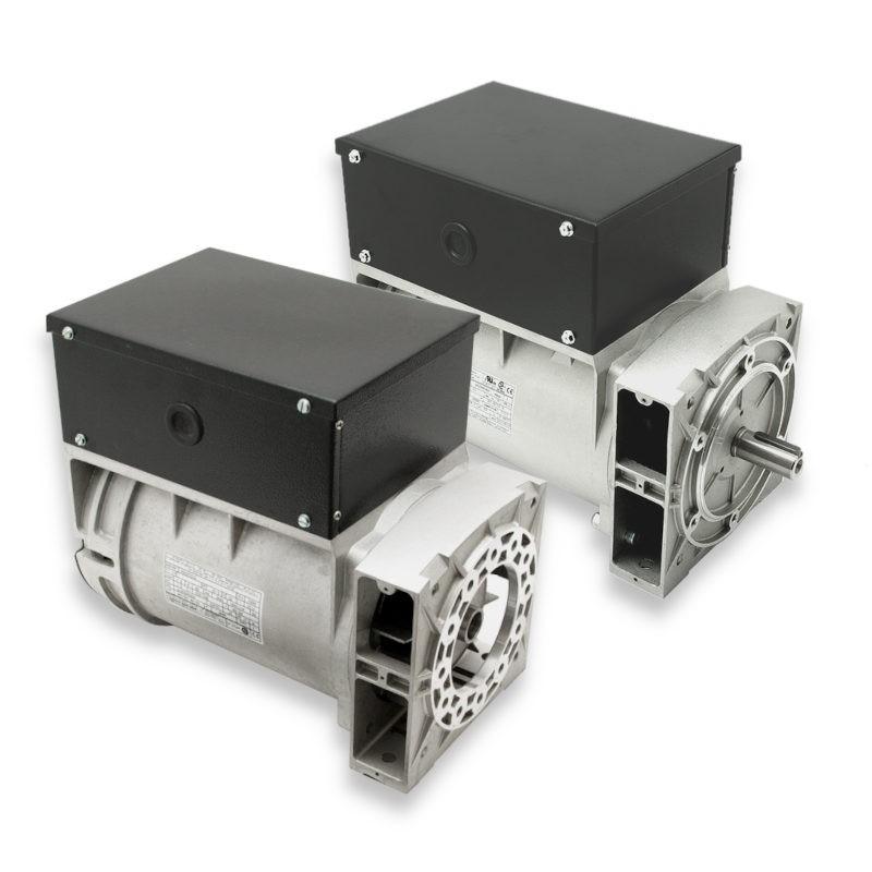 Alternador Mecc Alte monofásico 6,5 KVA a 3.000 rpm con opción de eje libre